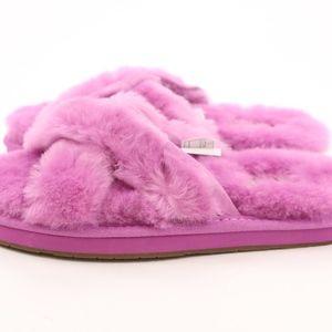 b60e277809c UGG Abela Bodacious Sheepskin Slippers